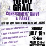 The Holy Grail Consignment Drive and Party