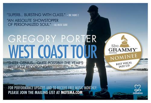 Gregory Porter tour dates