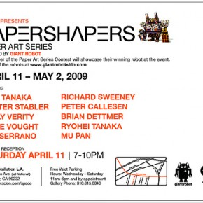 Scion's Papershapers This Weekend In Los Angeles