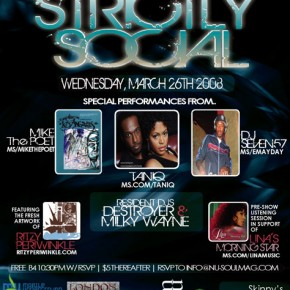 Strictly Social - March 26th