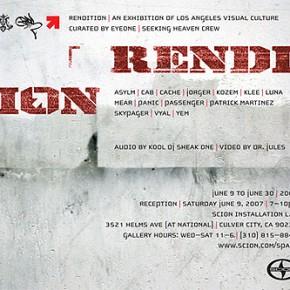 Scion Presents: Rendition