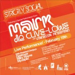 Mark De Clive-Lowe at Strictly Social