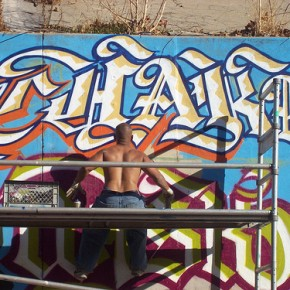 Weekend Art - Graffiti Artist Chaka Opens at Mid-City Arts