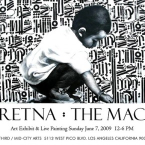 Retna & El Mac - Video Preview - Mid-City Arts - This Weekend