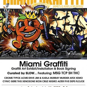 Miami Graffiti Opening This Weekend - Mid-City Arts