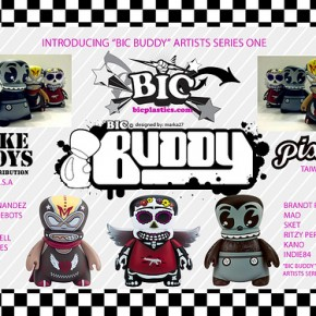Ritzy Periwinkle's Bic Buddy Vinyl Toy