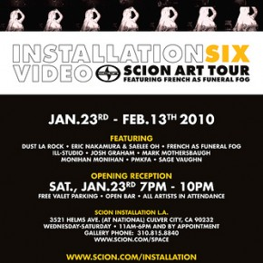 Scion Launches Installation 6: Video - This Weekend