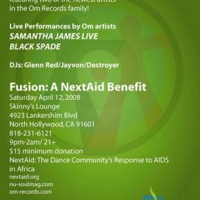 Fusion w/ Samantha James Live & Black Spade