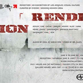 Scion Presents: Rendition