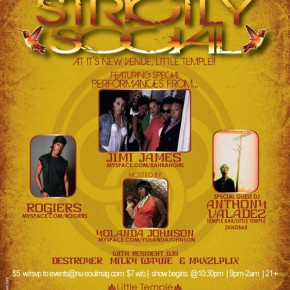 Jimi James, Rogiers - Strictly Social